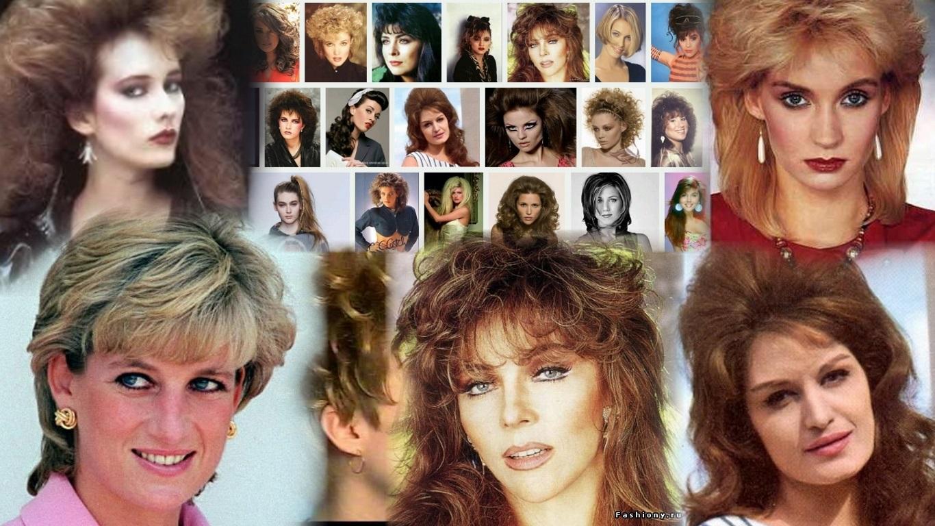 характерные черты прически 80-х годов фото