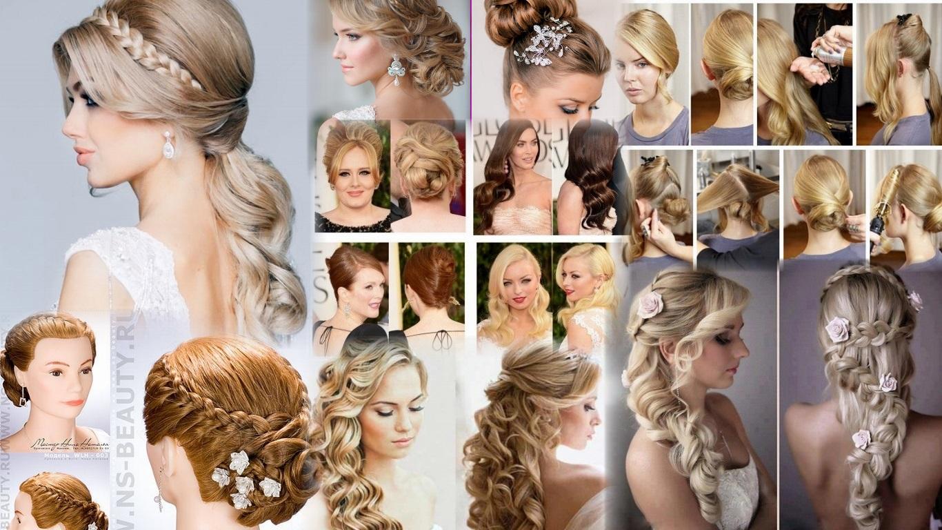 Прически на длинные волосы : фото и пошаговые уроки 11