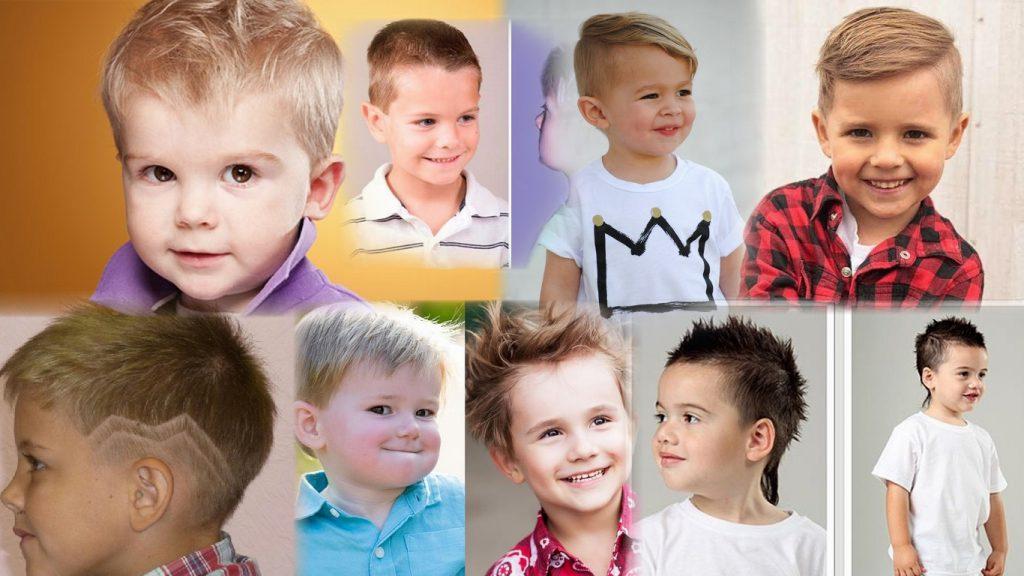 Модные стрижки для маленьких мальчиков фото