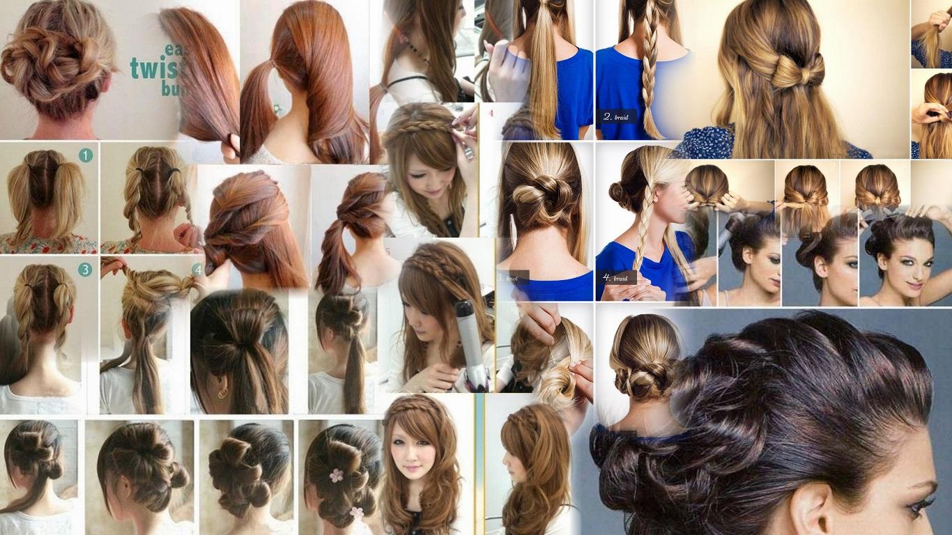 Фото красивых причесок на длинные волосы с пошаговой
