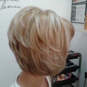 средняя длина волос