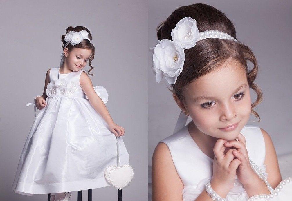 Прически на выпускной для маленьких принцесс