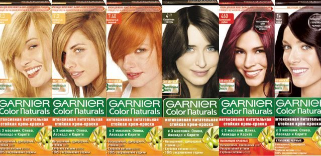 ПАЛИТРА GARNIER COLOR NATULALS