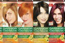 Гарньер палитра красок для волос