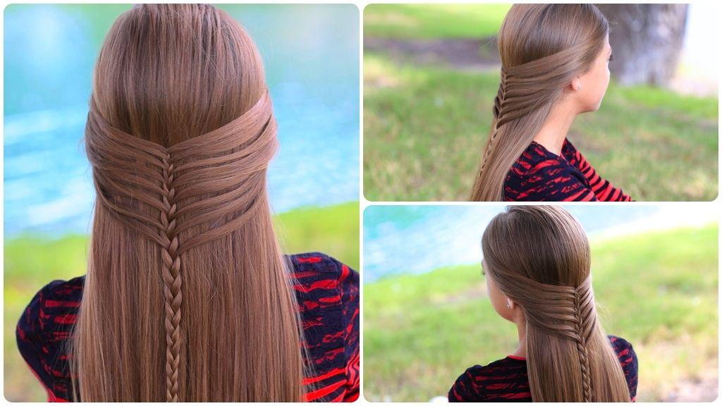 Как сделать причёски для девочек фото 296