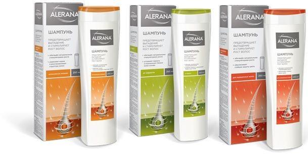 Шампунь Alerana для роста волос