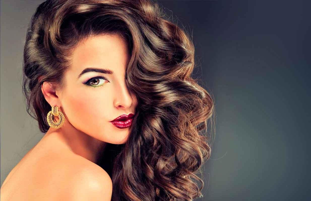 Красивые картинки девушки с красивыми волосами