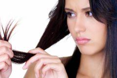 секущиеся волосы - большая проблема