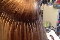 Горячее наращивание волос итальянской технологией гарантирует долговечный результат.