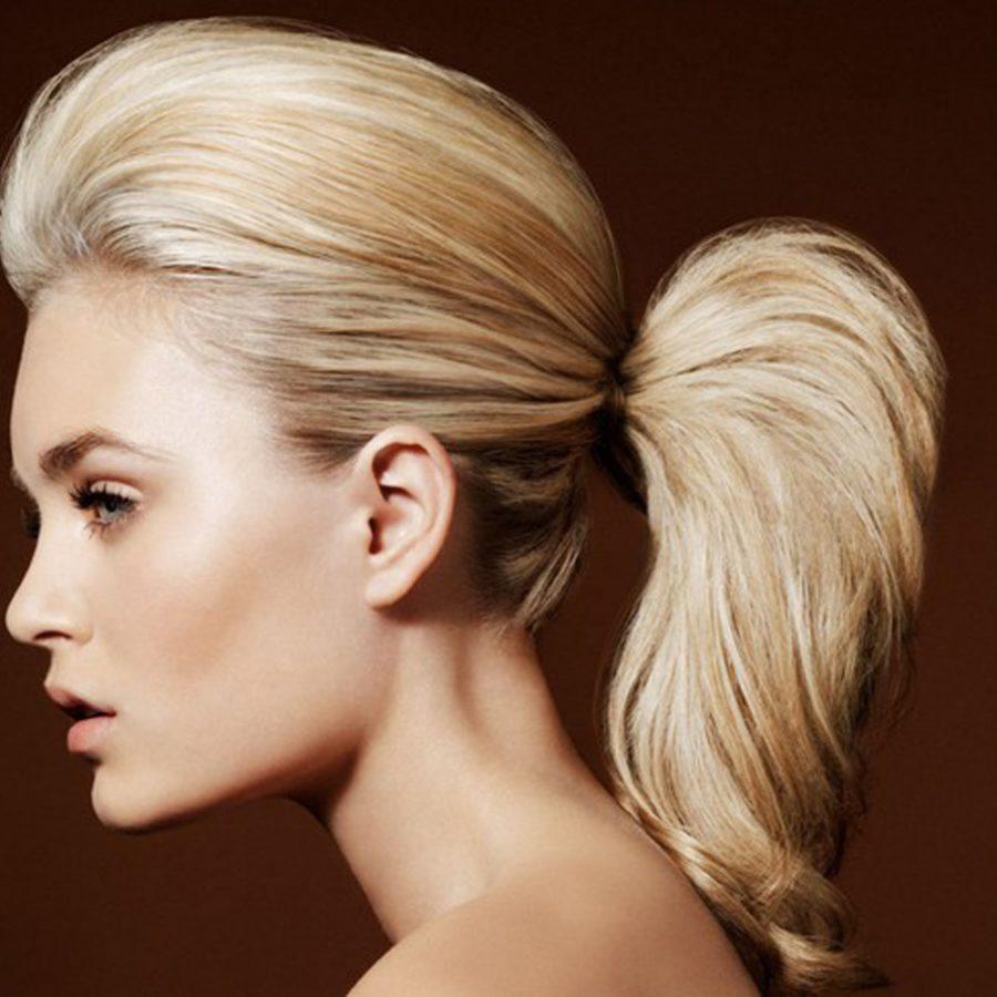 Как правильно сделать начес на средние волосы фото 592