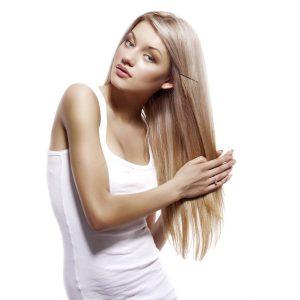 Выпрямлением волос