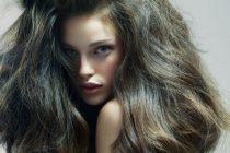 объемные густые волосы