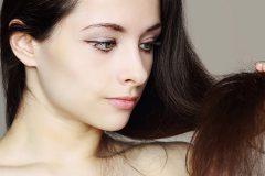 Структура волос меняется из-за недостатка выделения кожного сала