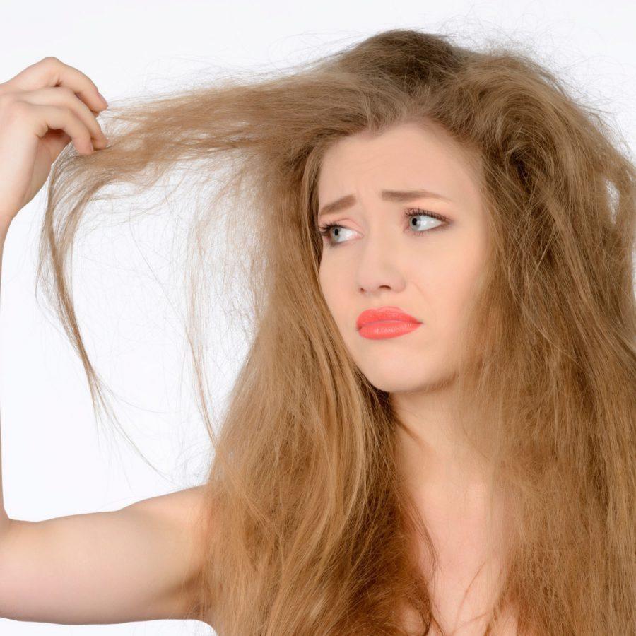 suhie volosy 1 12140112 - Как покрасить волосы в домашних условиях