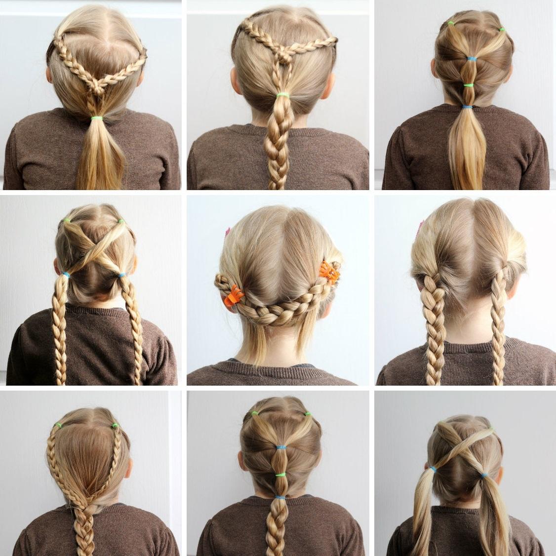 Прически на длинные волосы своими руками пошаговое фото для девочек фото 550