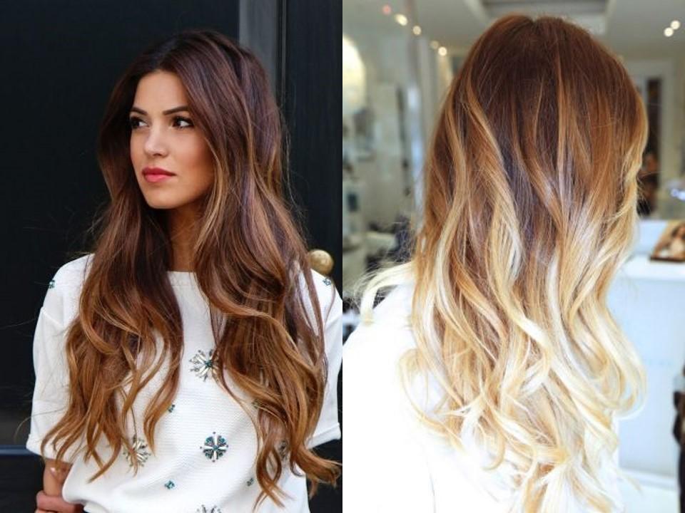 Окраска волос по методу омбре