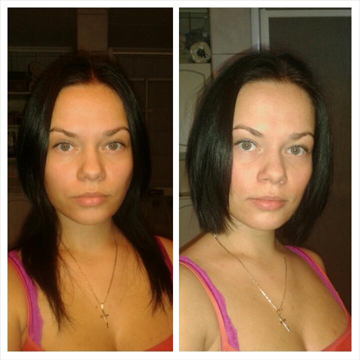 Длинные и короткие волосы