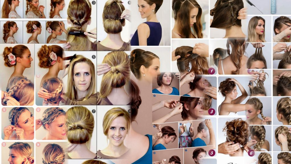 Какую сделать прическу на средние волосы фото