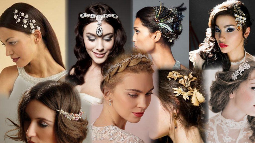 Прически с украшениями для волос фото