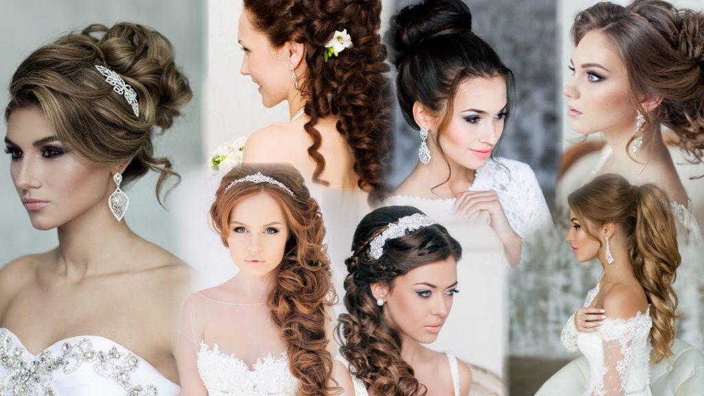 Смотреть свадебные прически фото
