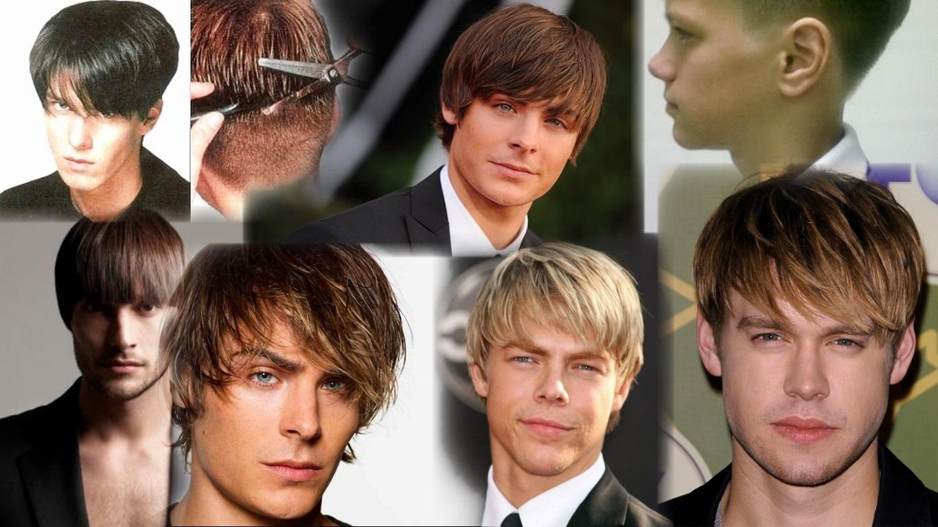 Достоинство мужской прически для средних волос в том, что она всегда следует моде и может подчеркнуть индивидуальность.