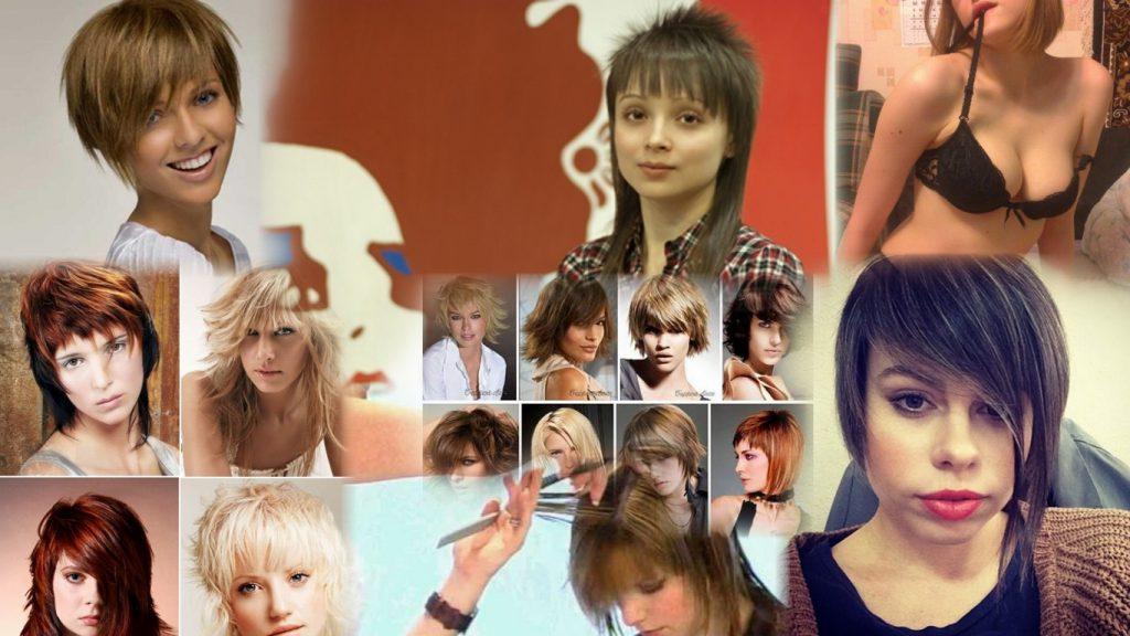 Стрижки бритвой женские фото