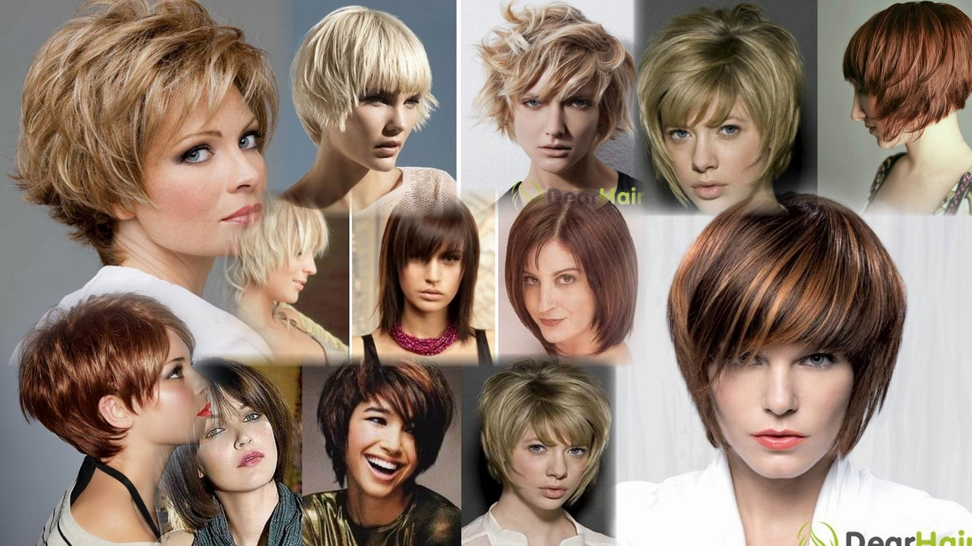 Градуированные стрижки на короткие волосы фото