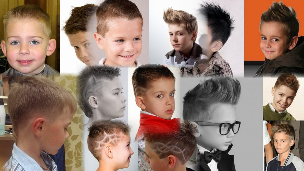 Детские стрижки для мальчиков фото и название