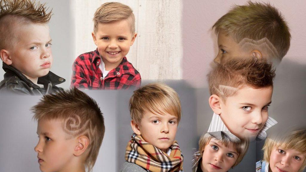 Детские стрижки мальчиков фото