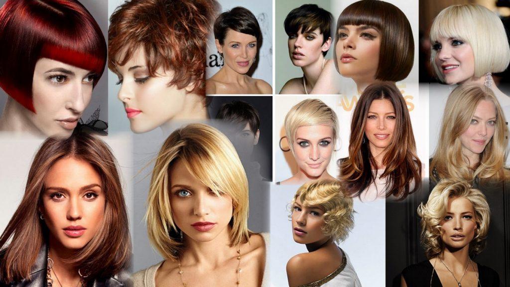 Классические стрижки женские фото