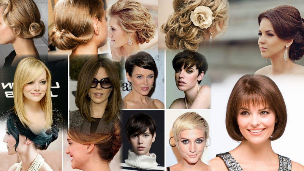 Классические стрижки на средние волосы фото
