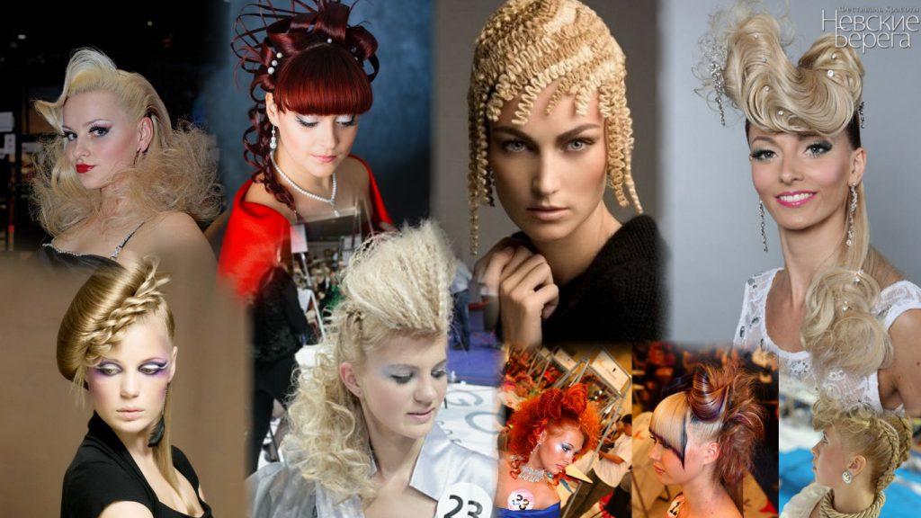 Конкурсные прически на длинные волосы фото