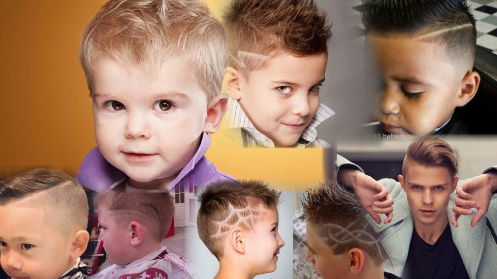 Креативные стрижки для мальчиков фото
