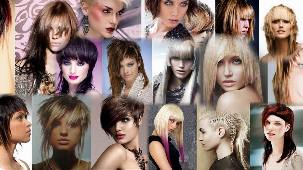 Креативные стрижки на средние волосы фото