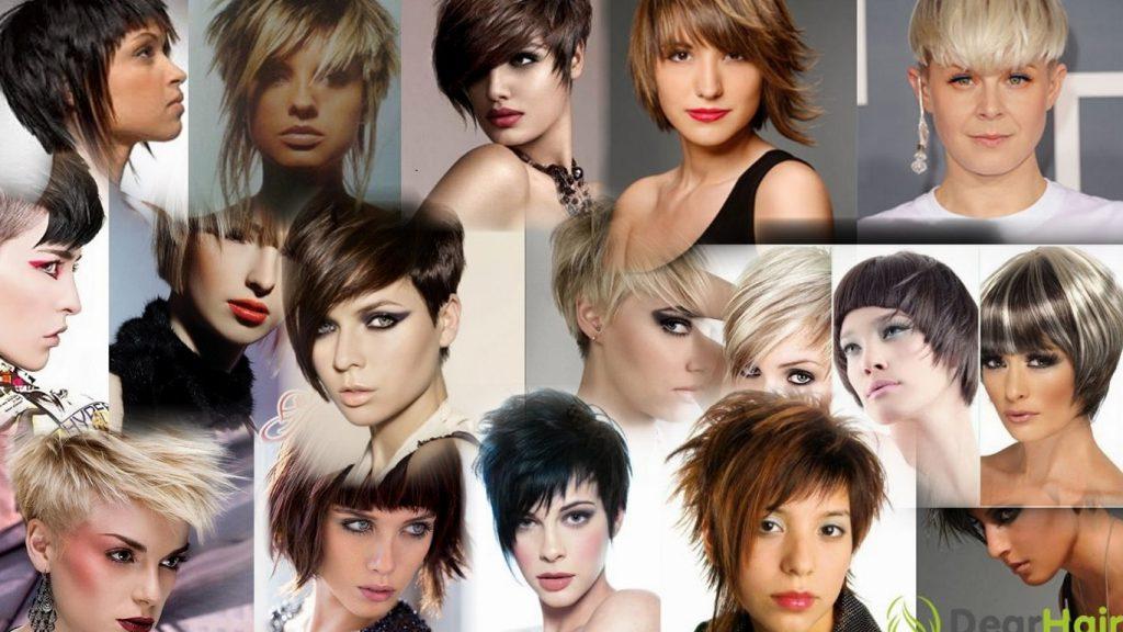 Фото креативных стрижек на короткие волосы
