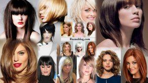 Модные прически на средние волосы фото