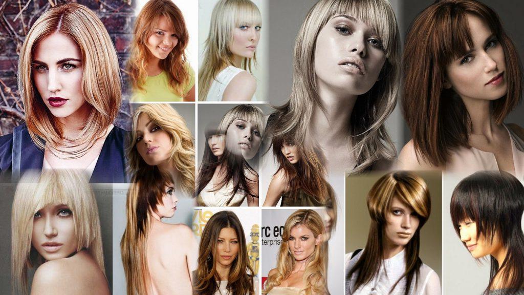 Молодежные стрижки на средние волосы фото