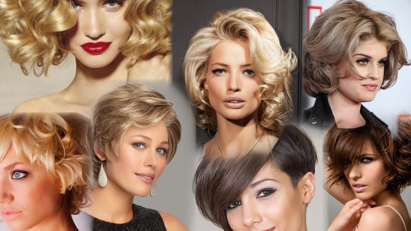 Например, женские короткие стрижки для девушек с кругленьким личиком должны быть с асимметрией, многослойностью и объемом сверху, ведь прическа на короткие волосы такую форму лица должна вытягивать.