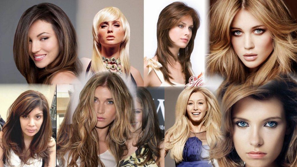 Объемные стрижки на длинные волосы фото