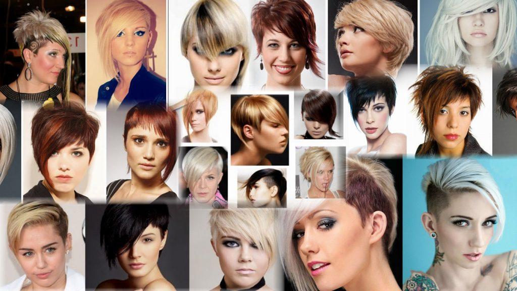 Прическа асимметрия на короткие волосы фото