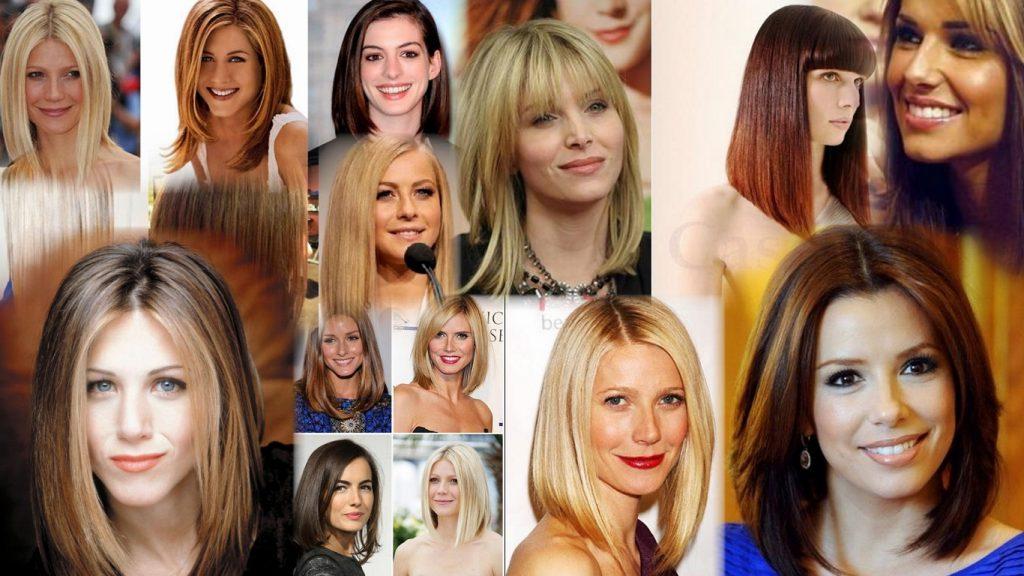 Прическа боб на длинные волосы фото