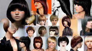 Прическа сессон фото на средние волосы