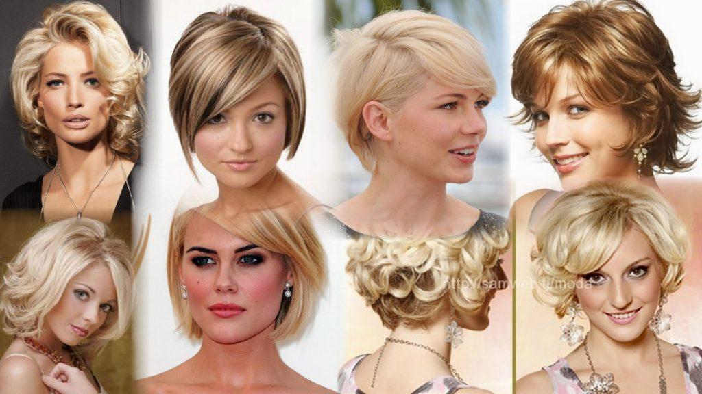 Прически для волос короткой длины фото