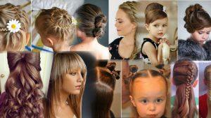 Прически для девушек на средние волосы фото