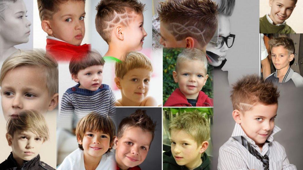 Прически для мальчиков 5 лет фото