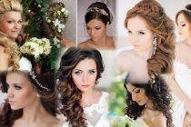 Прически для невесты на длинные волосы фото