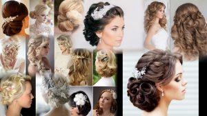 Прически для свадьбы на средние волосы фото