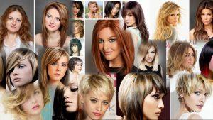 Прически и покраска на средние волосы фото