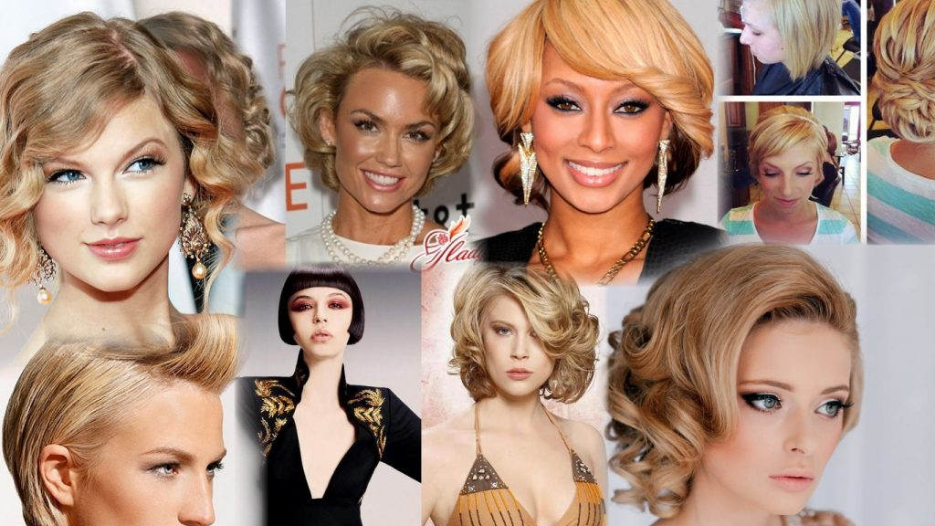 Прически и укладки на короткие волосы фото