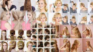 Прически на каждый день средние волосы фото